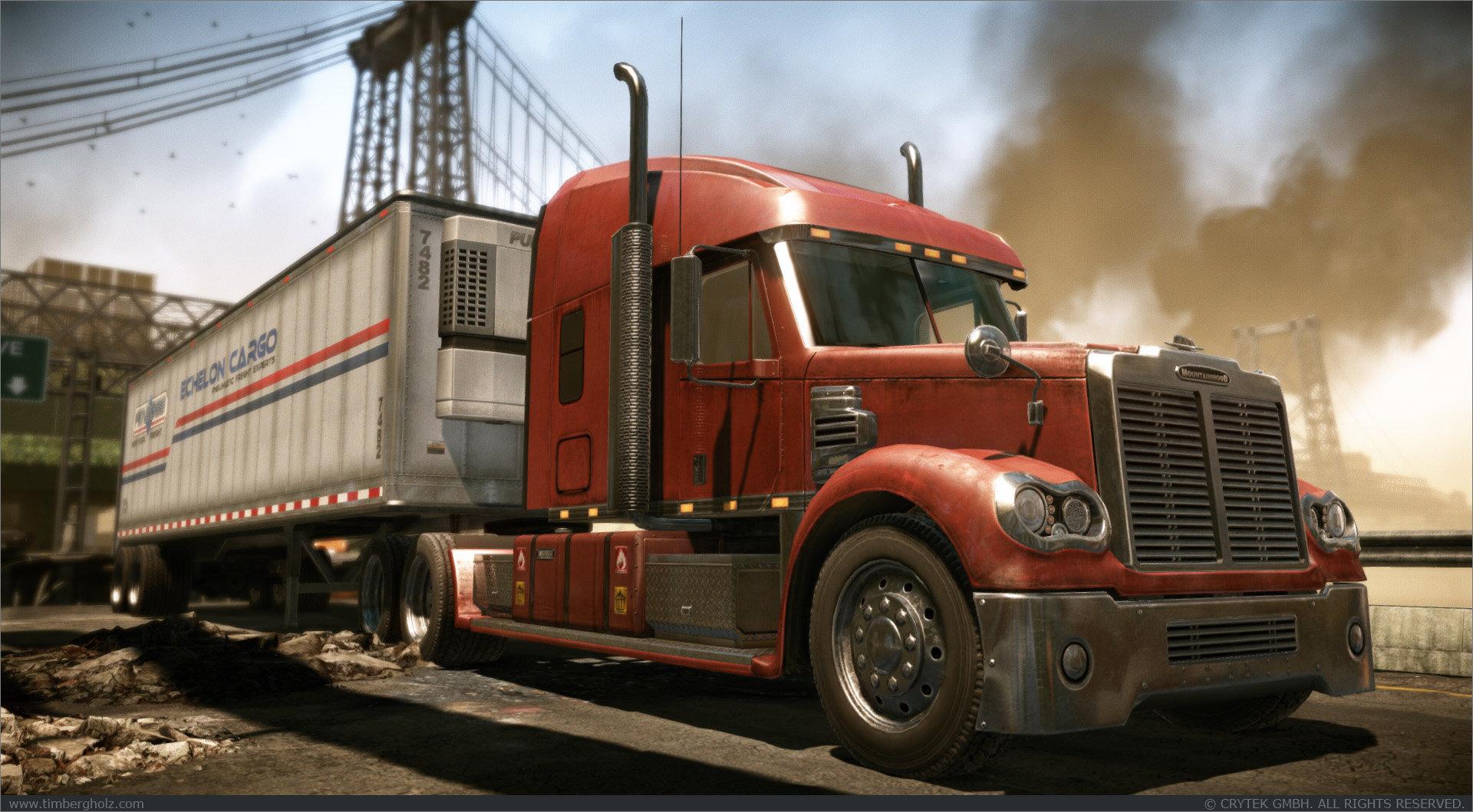 Tim bergholz red truck full