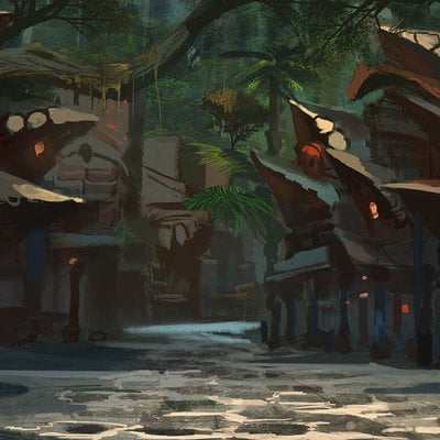 Raph lomotan junglevillage