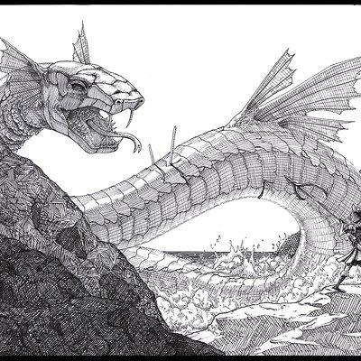 Jessica parker 11 sea serpent