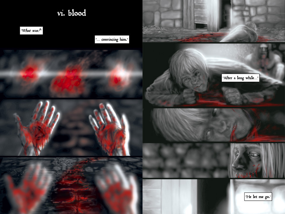 2 pages from Dark Turn Of Mind Vol 1