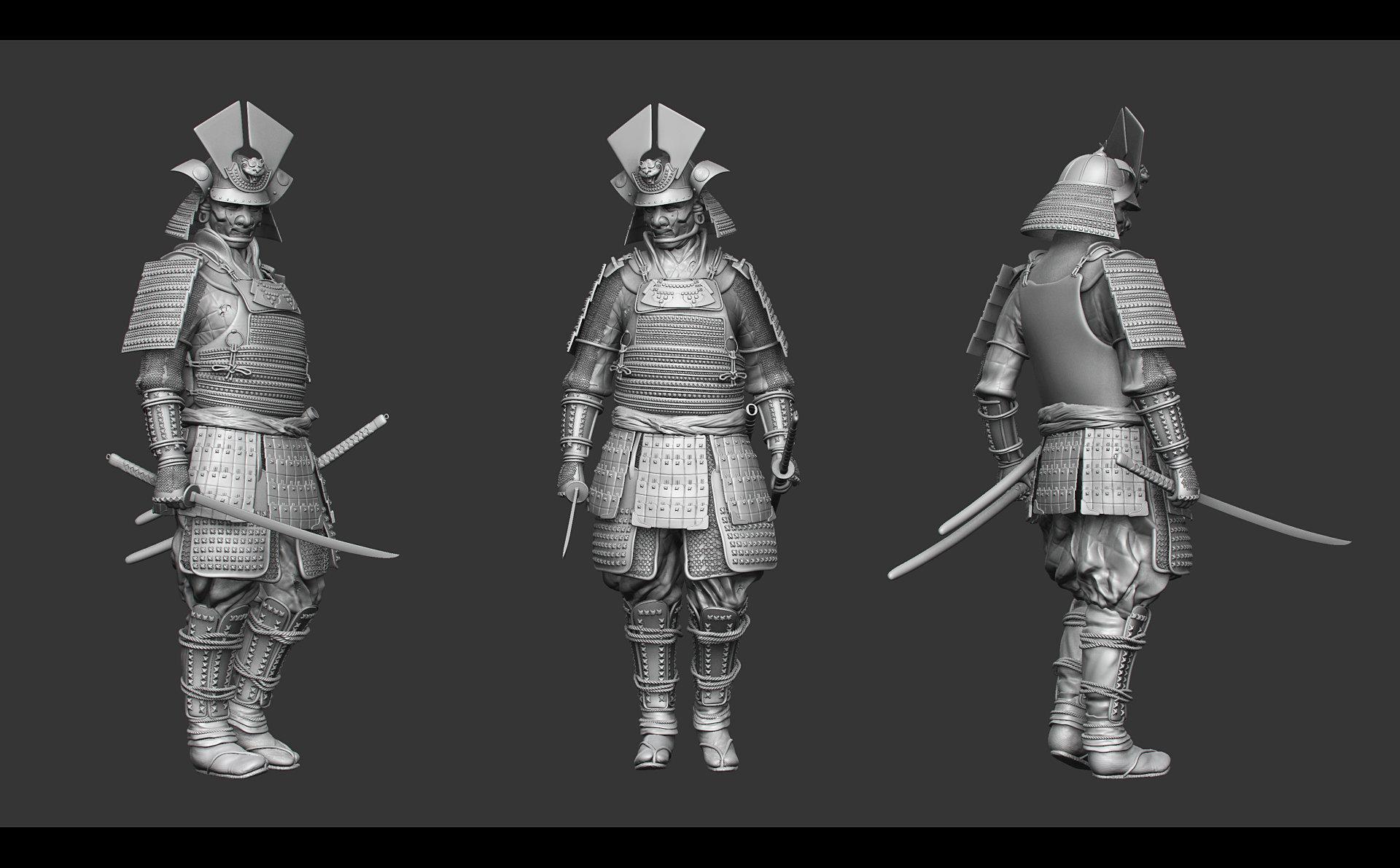 artstation female samurai miratoru san andreas e hopen