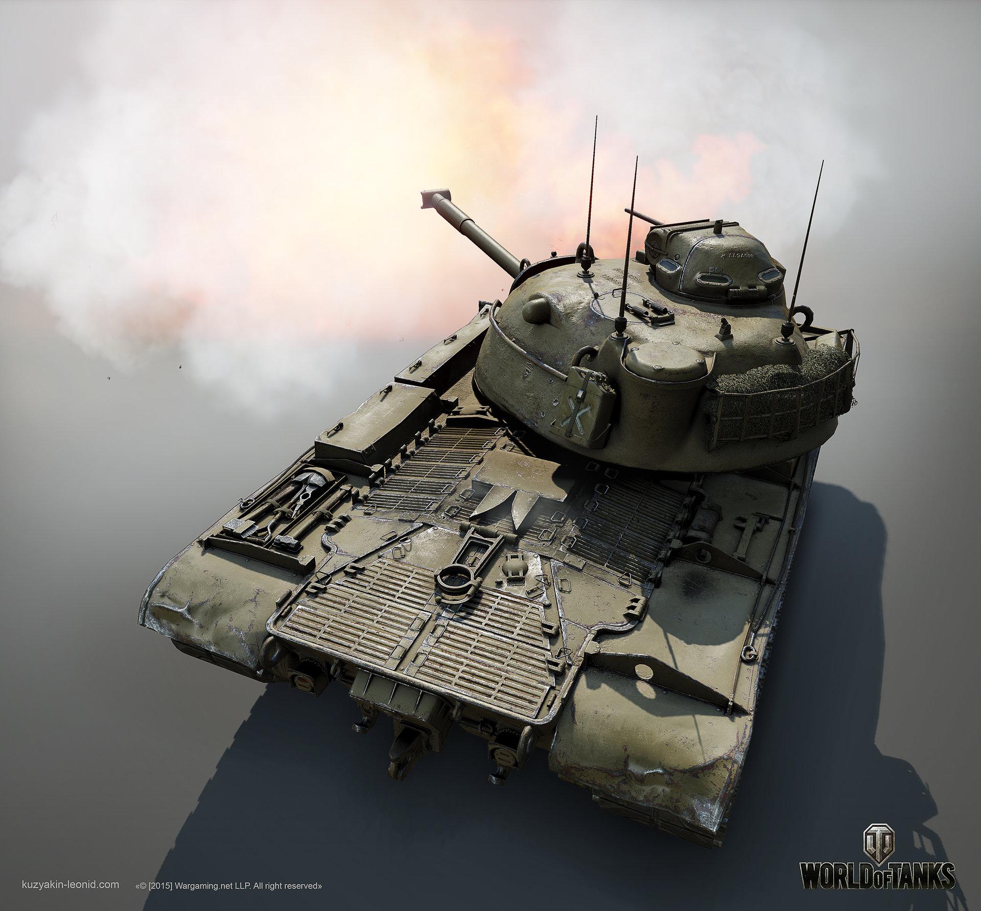 Leonid kuzyakin patton m48a1 04