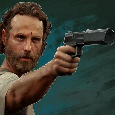 Andrew hunt rick grimes screen res