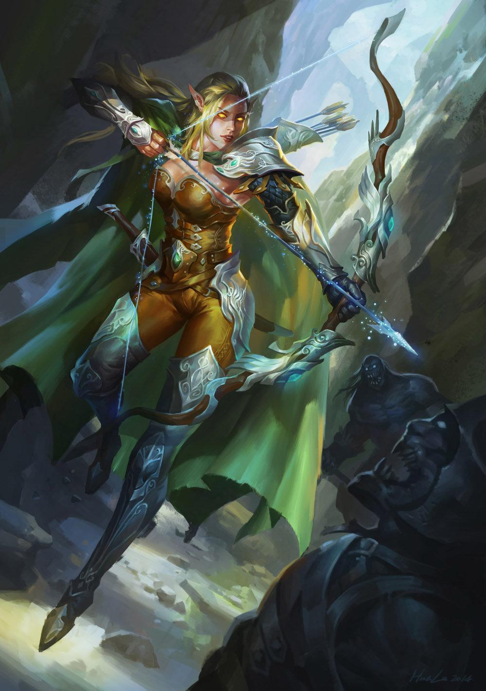 Hua lu elf ranger f