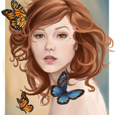 Caitlin fisher butterfly