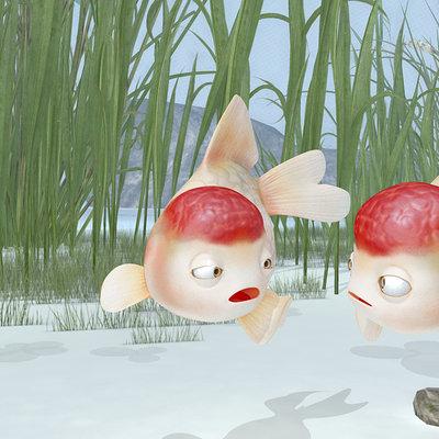 Truong chau goldfish render 99