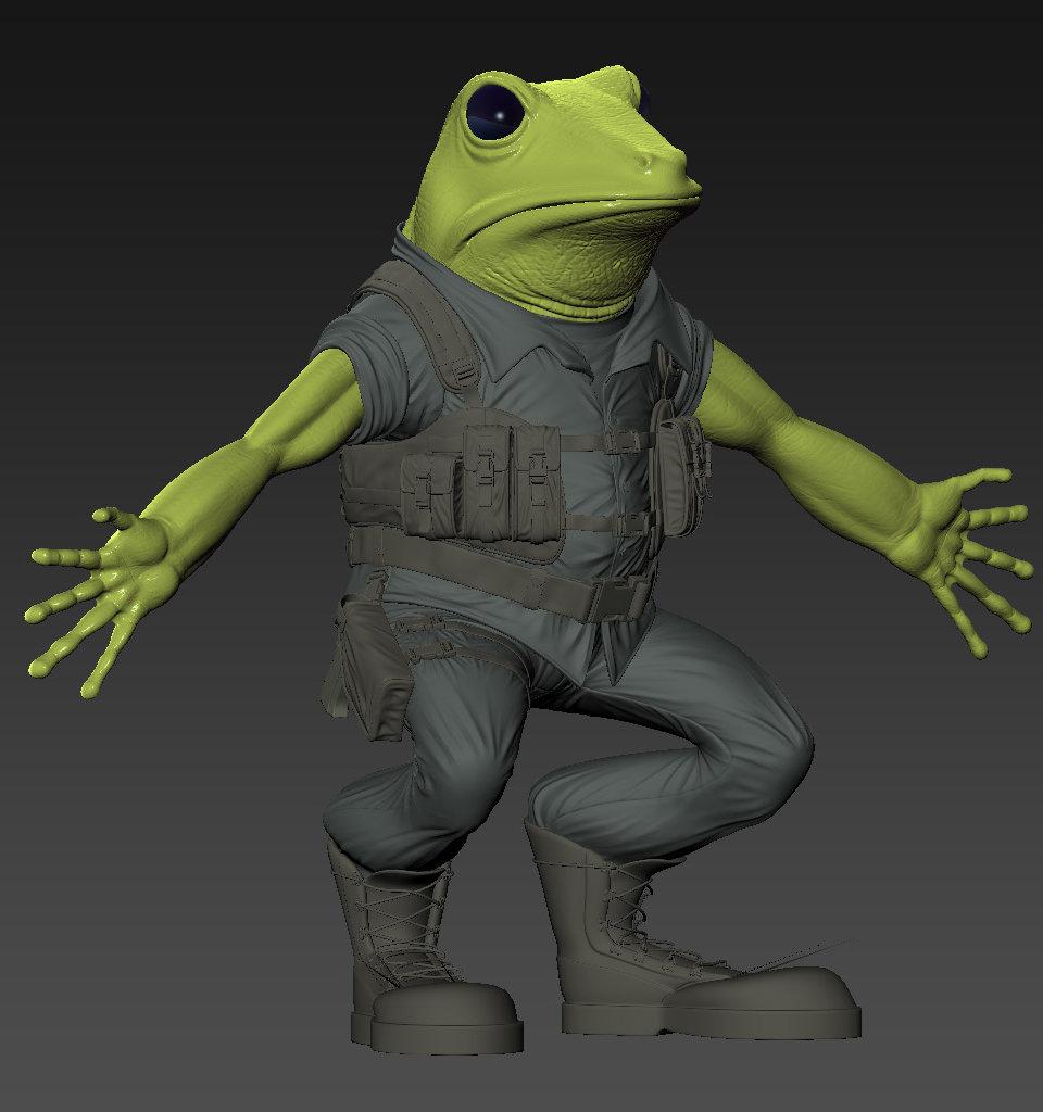 Sendoa bergasa frog wip 010