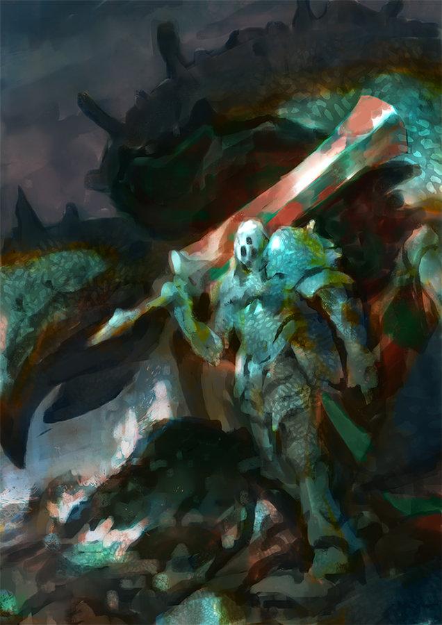 Veli nystrom crustacean warrior wip2