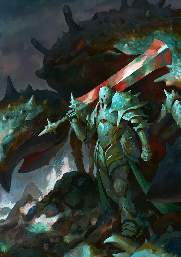 Veli nystrom crustacean warrior wip4