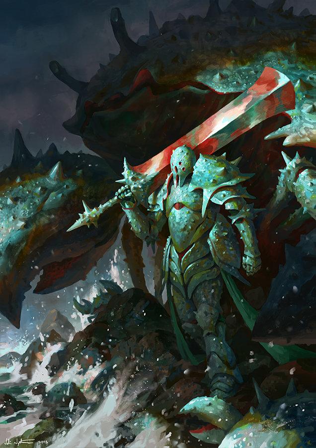 Veli nystrom crustacean warrior wip6