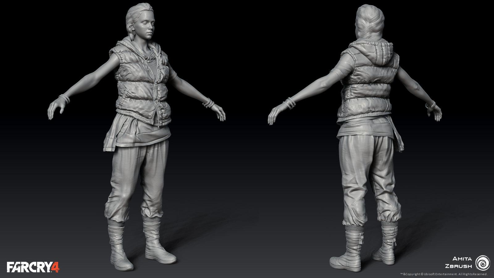 Zbrush Model *Head finalized by Ed Hardison