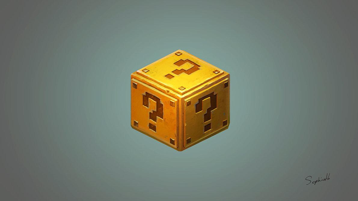 Mario Box Fan Art