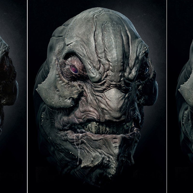 Cowboys and Aliens - Head Design and Stages