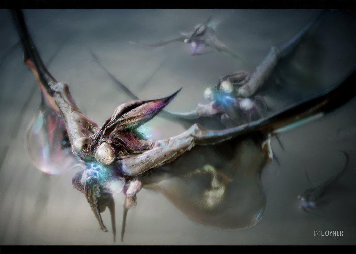 Essence Creature Design - Squidsect