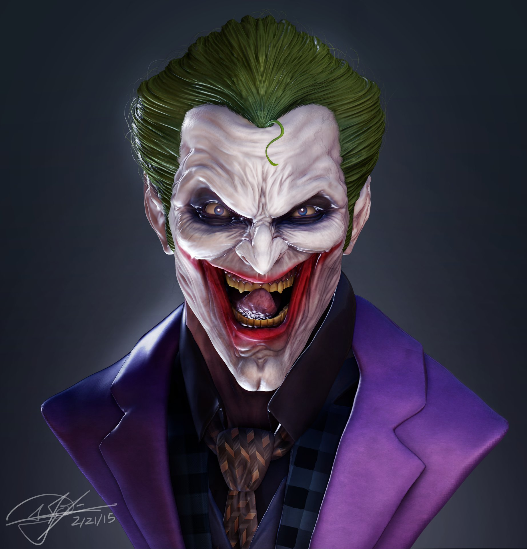 Andy chin joker but with ca