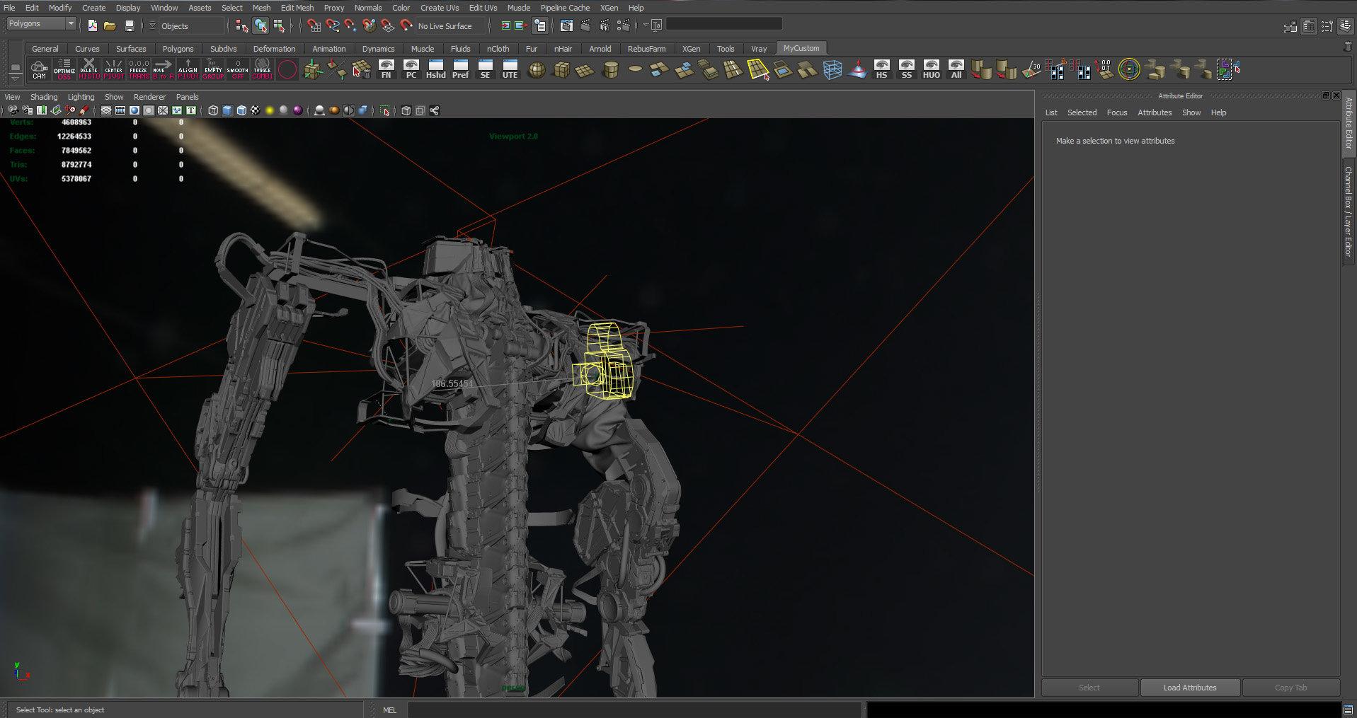 Romain chauliac maya screen 01 viewport
