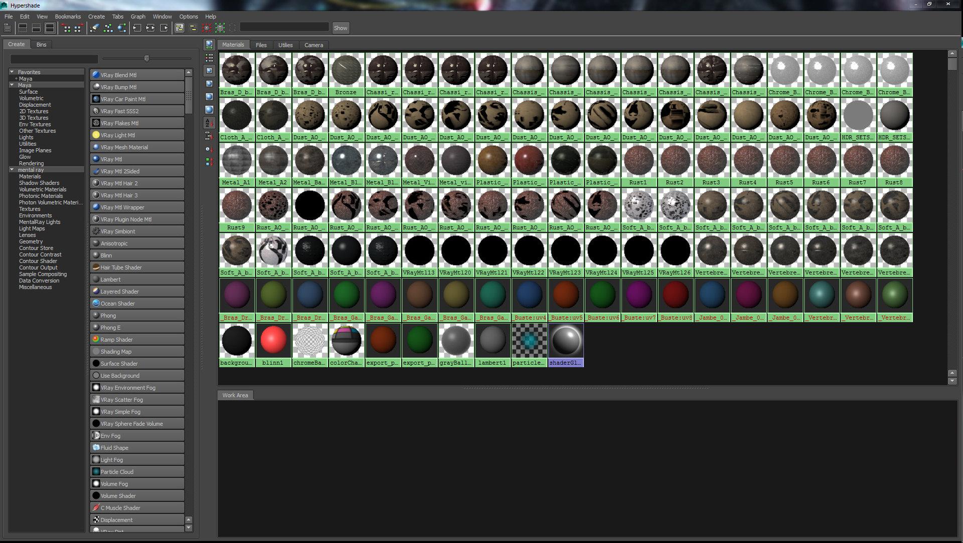 Romain chauliac maya screen 02 shaders