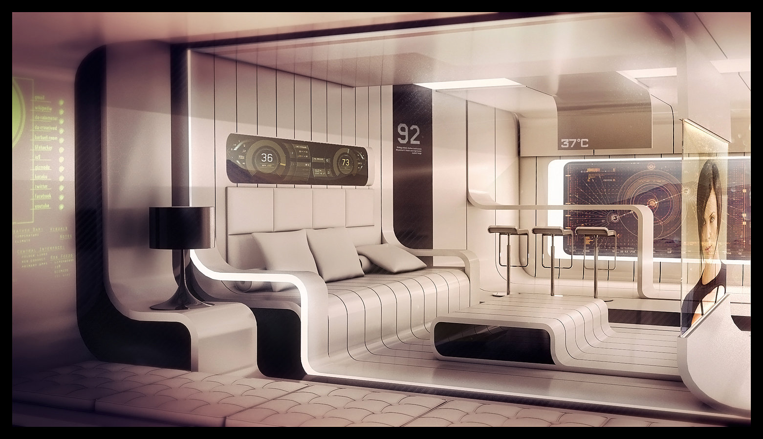 & ArtStation - My interior design and architecture Encho Enchev