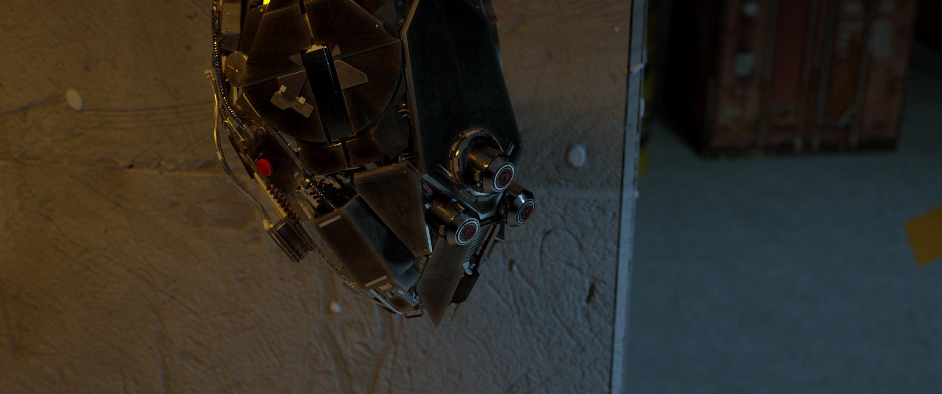 Mark chang robot vector scene