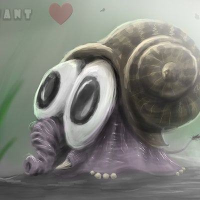 Igor puskaric snailafant by pukey82 d55f3ui