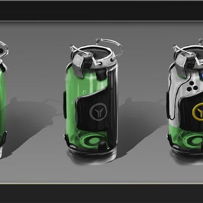 Igor puskaric sci fi barrels can ccpt by iggy design d8gow1j