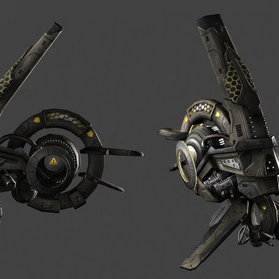 Igor puskaric fighter nebule textured by iggy design d6p1oj8