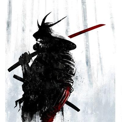 Mack sztaba samurai sketch 3