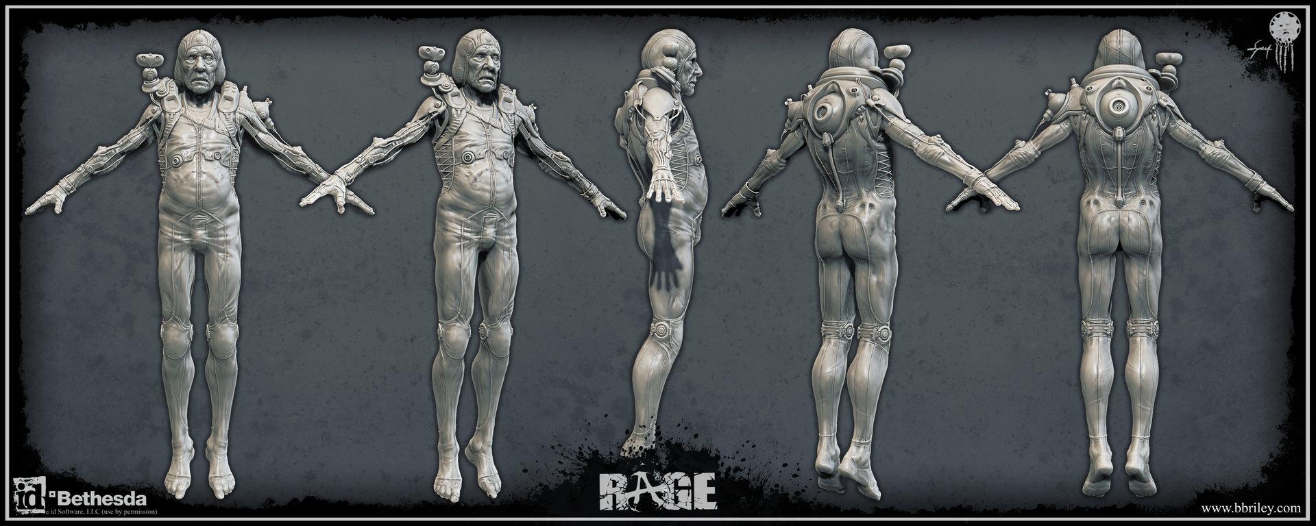 Rage Concept Art