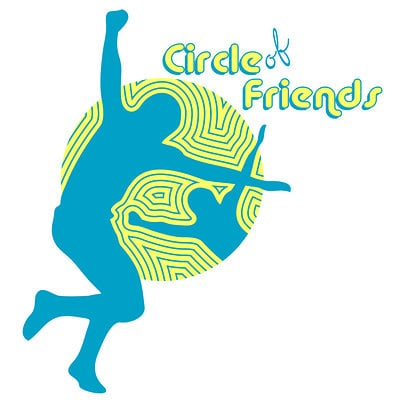 Anthony m grimaldi circle of friends logo 3