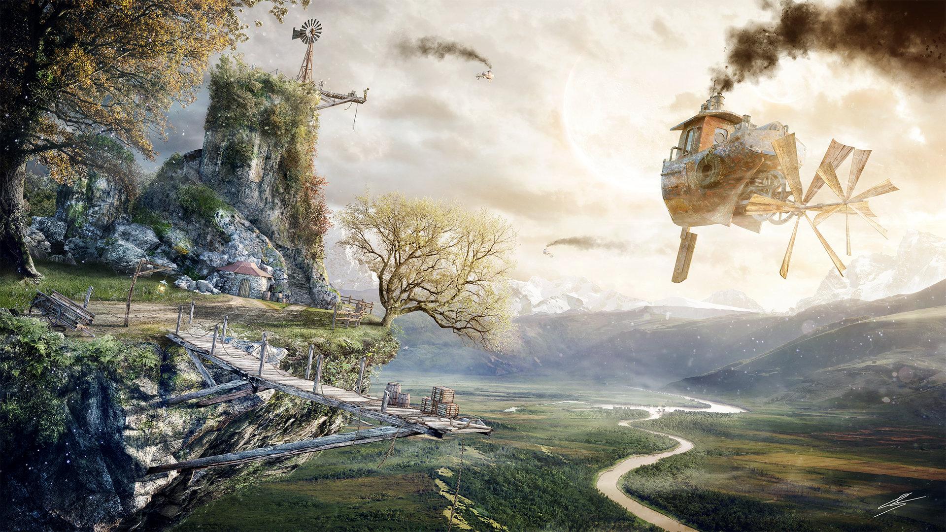 Romuald chaigneau fantasy environment redim