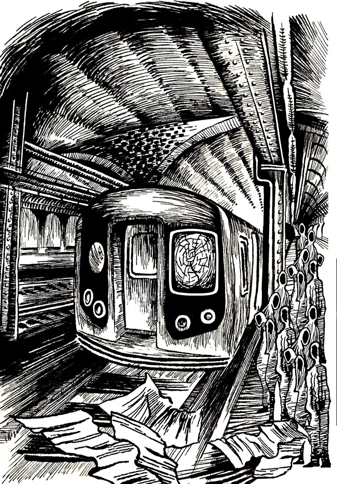 Pen and ink illustration