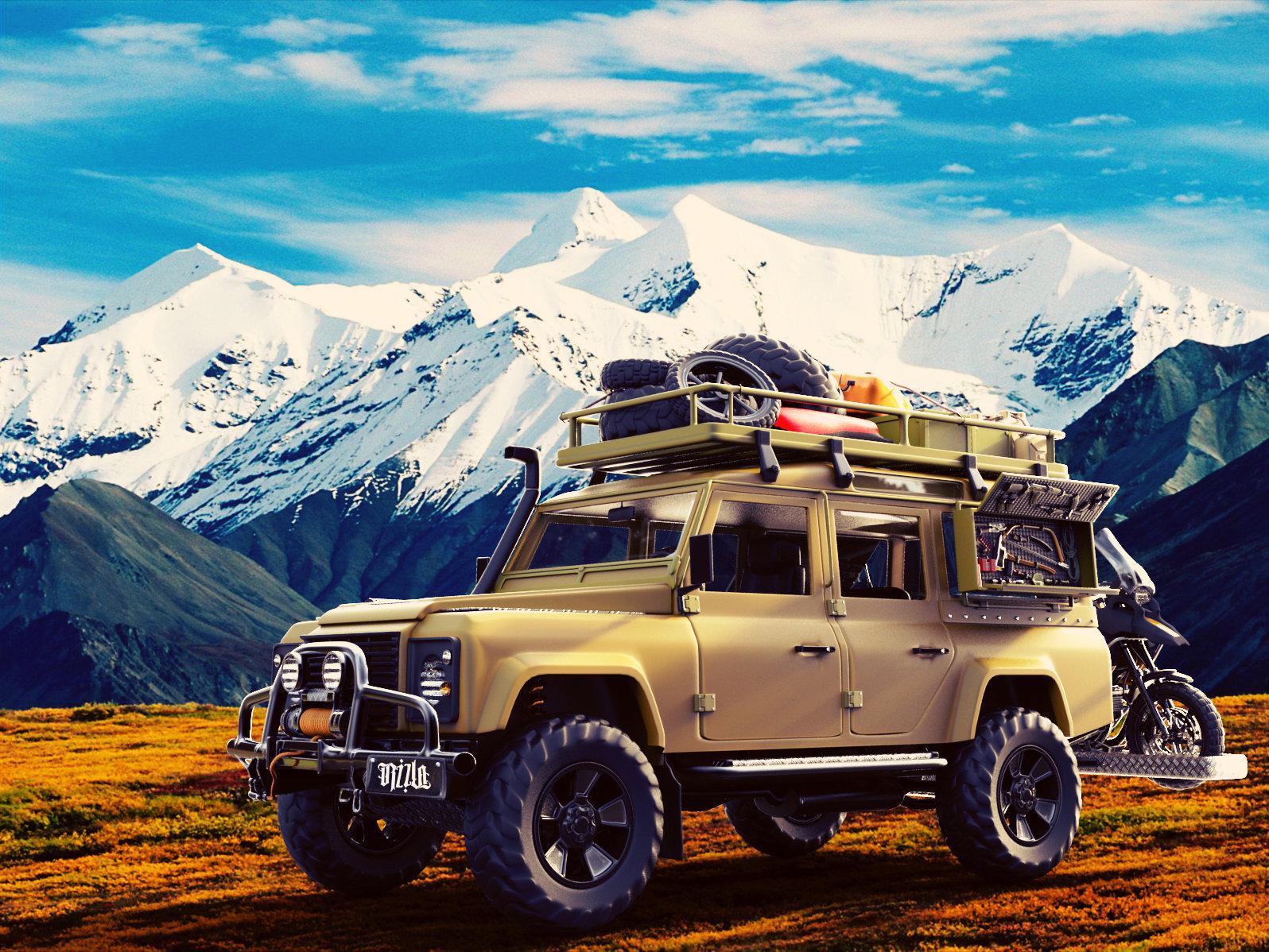 Marko Petric Land Rover Defender 130 Quot Adventure Quot
