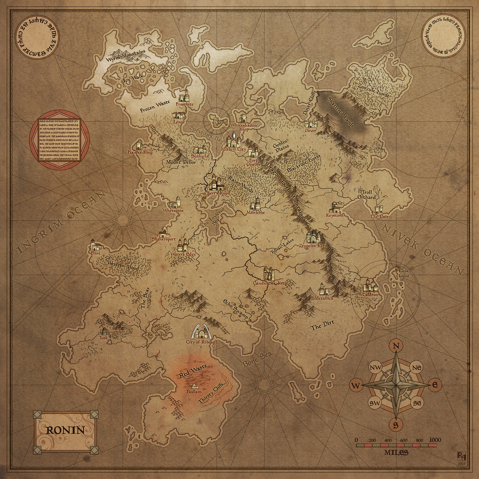 Robert altbauer map of ronin