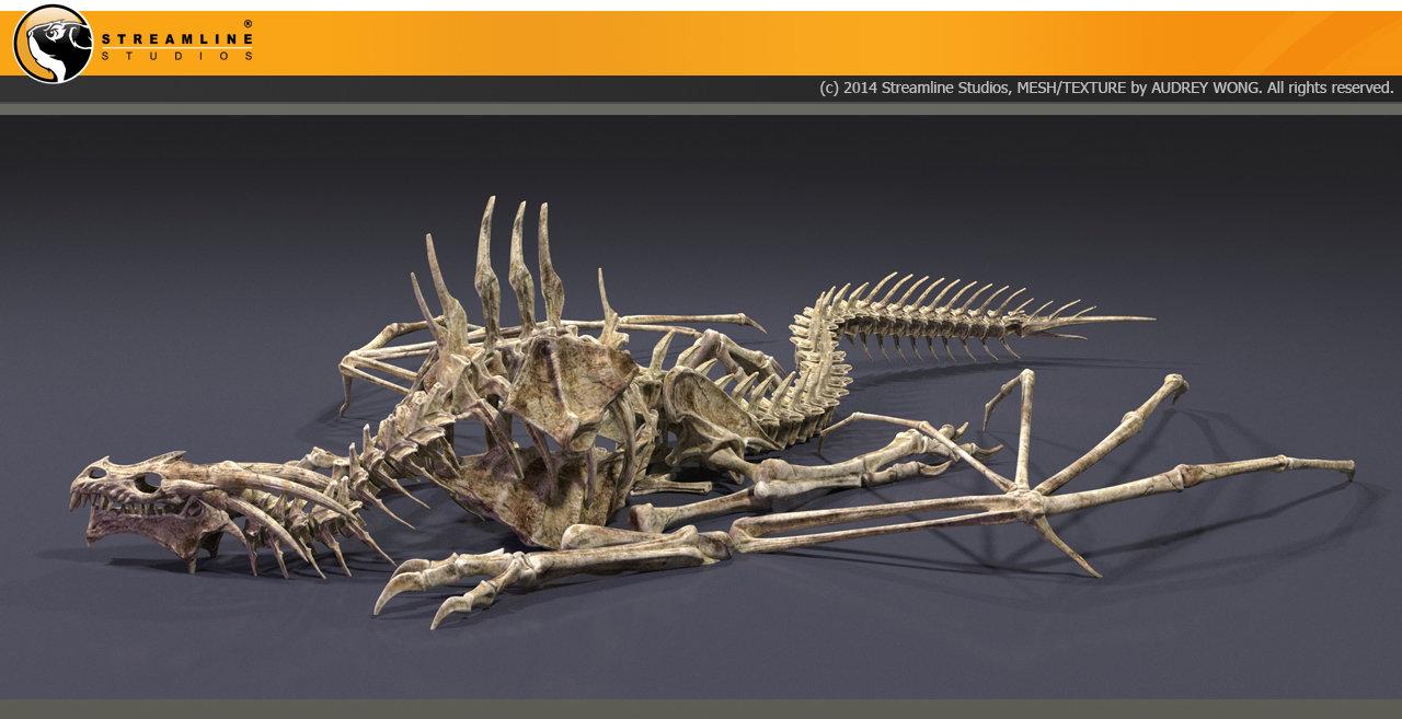 Audrey wong dragon skeleton