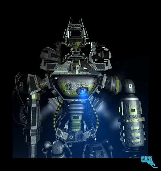 Marc mons robot sol