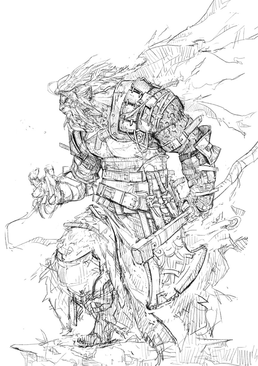 WARRIOR_sketch