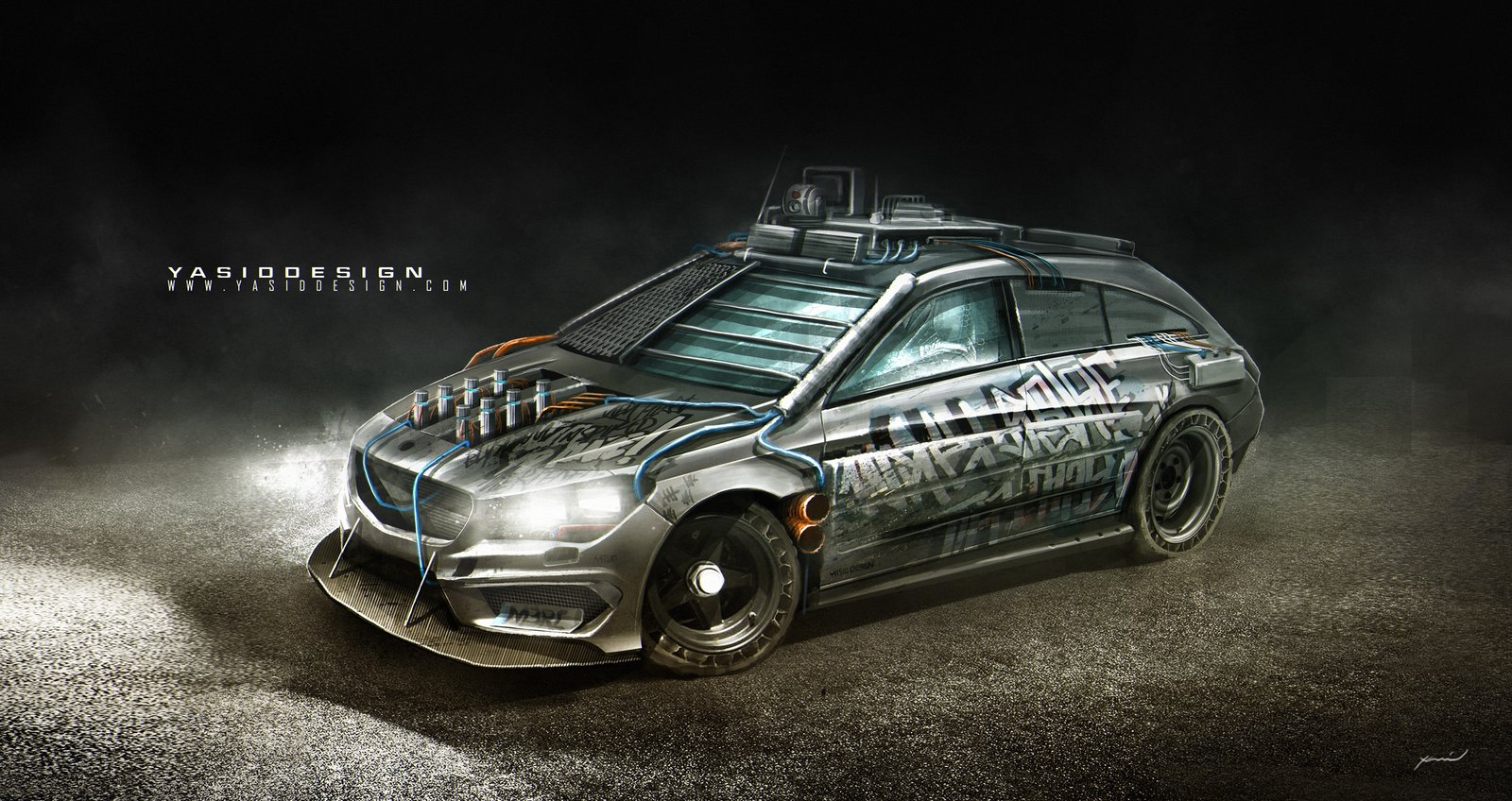 Elysium Mercedes-Benz CLA45 AMG Shooting Brake (2016)