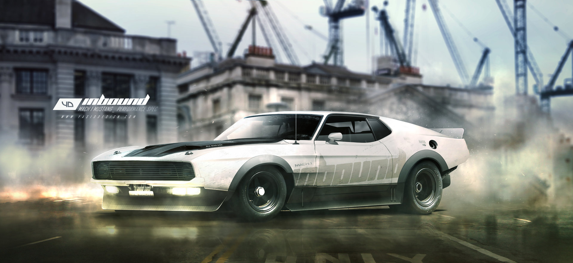 ArtStation - Ford mustang Mach 1 performance spec , Yasid ...