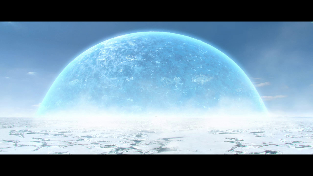 """Frozen Environment with the """"time anomaly"""""""