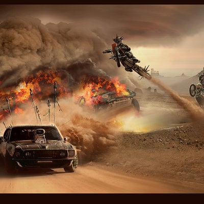 Travis lacey mad max fan art travis lacey