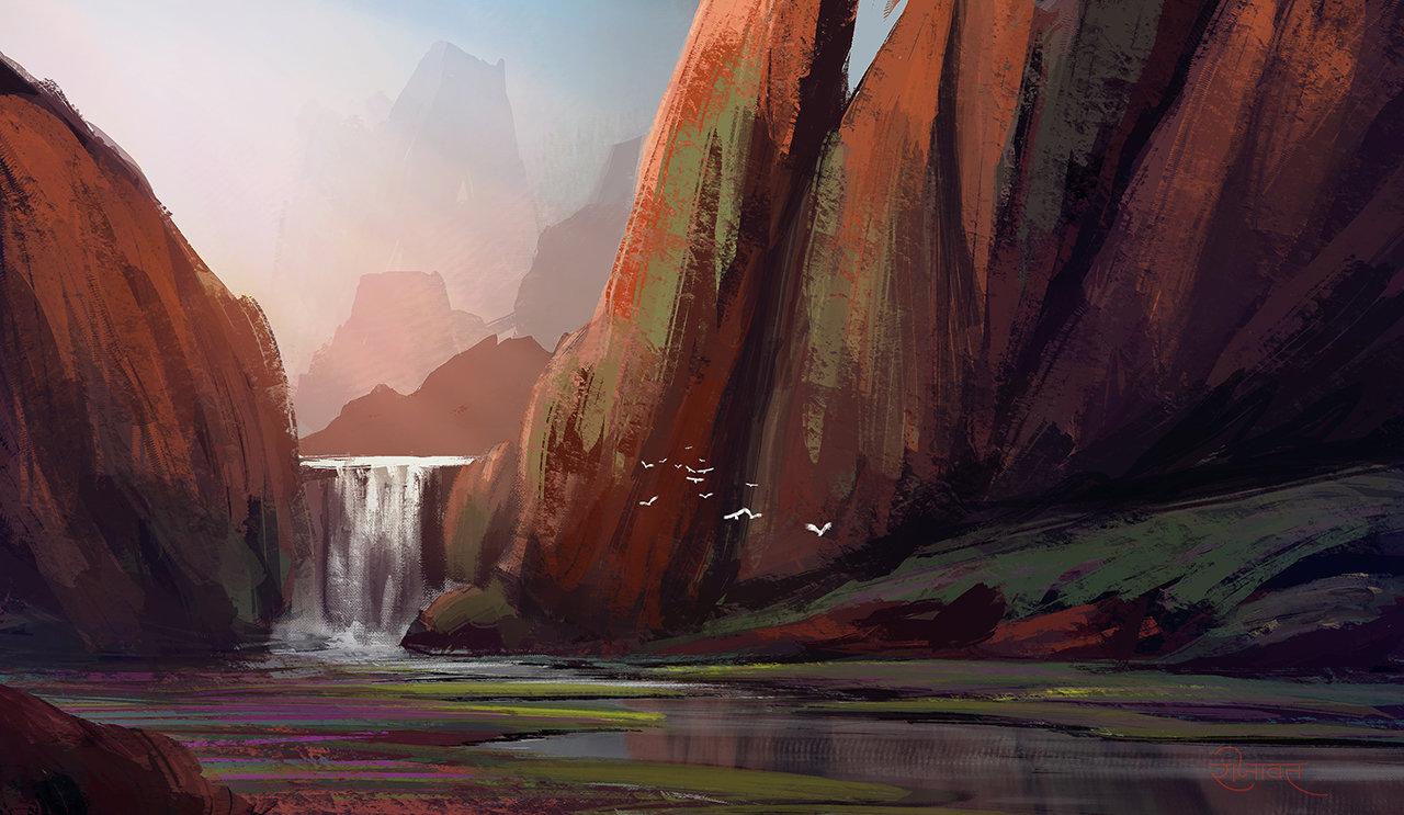Surendra pratap singh rajawat speed painting 16small