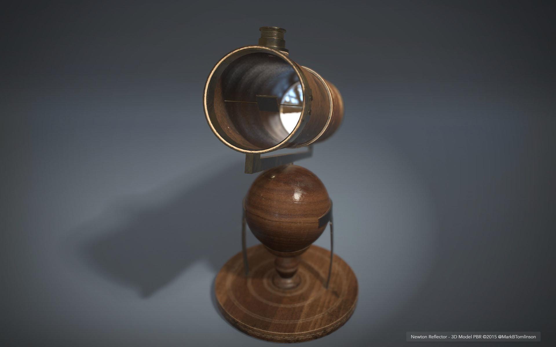 Mark b tomlinson newton reflector pbr render 06