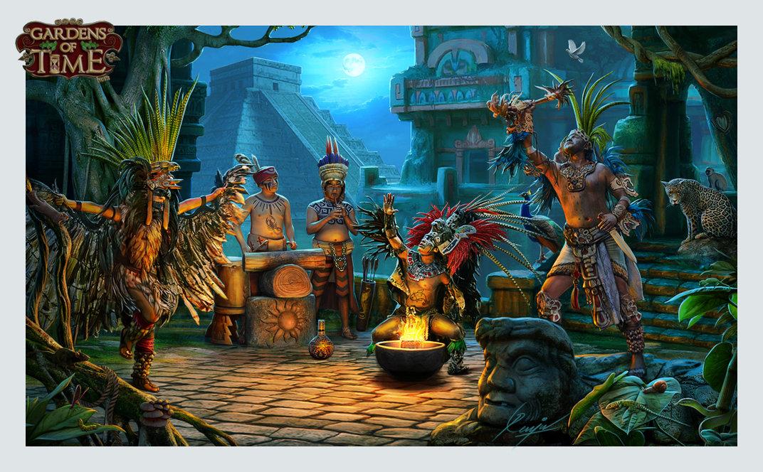 Artstation Hidden Object Games Backgrounds Mv Renju