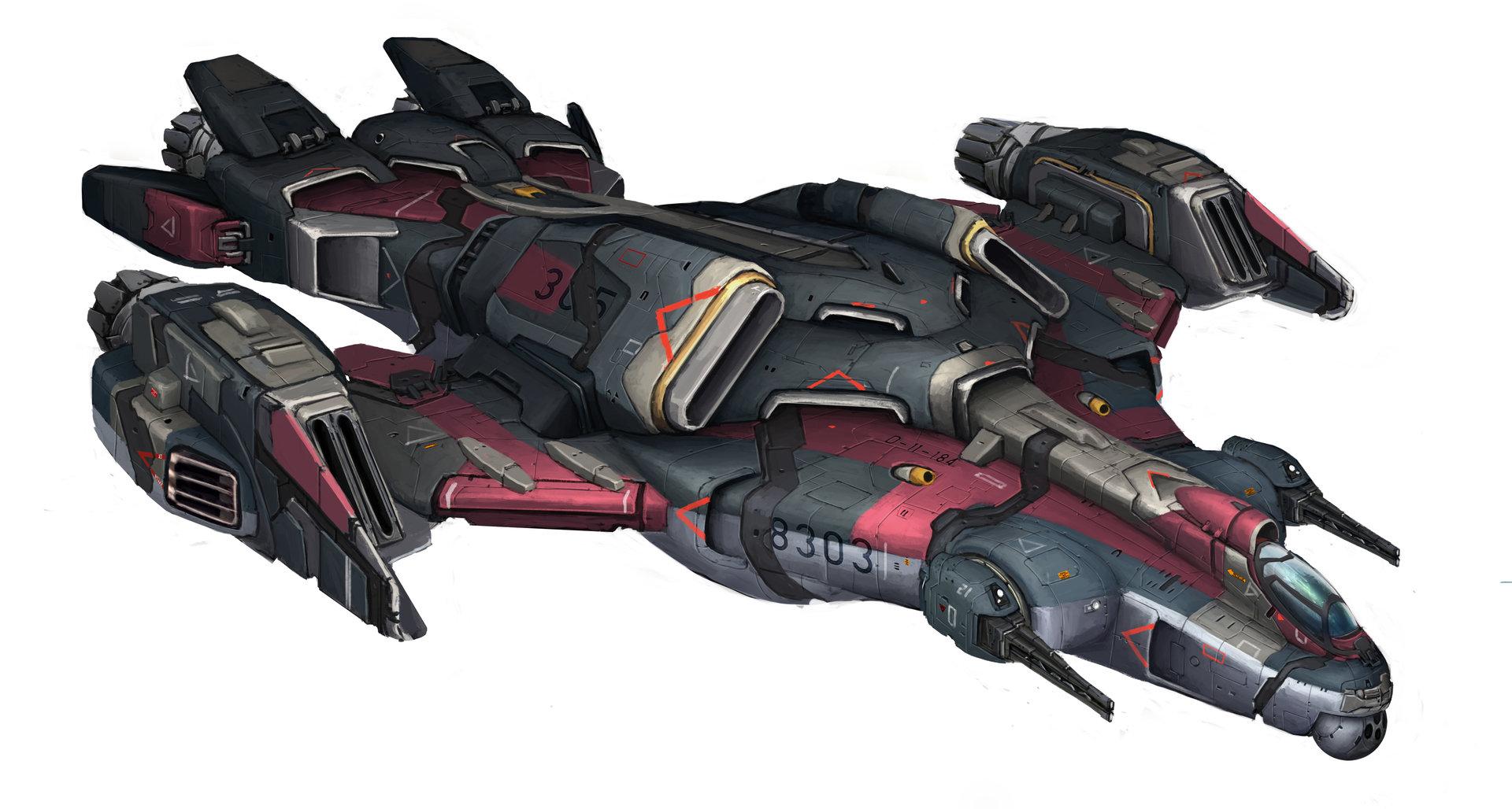 Lucas orstrom spaceship