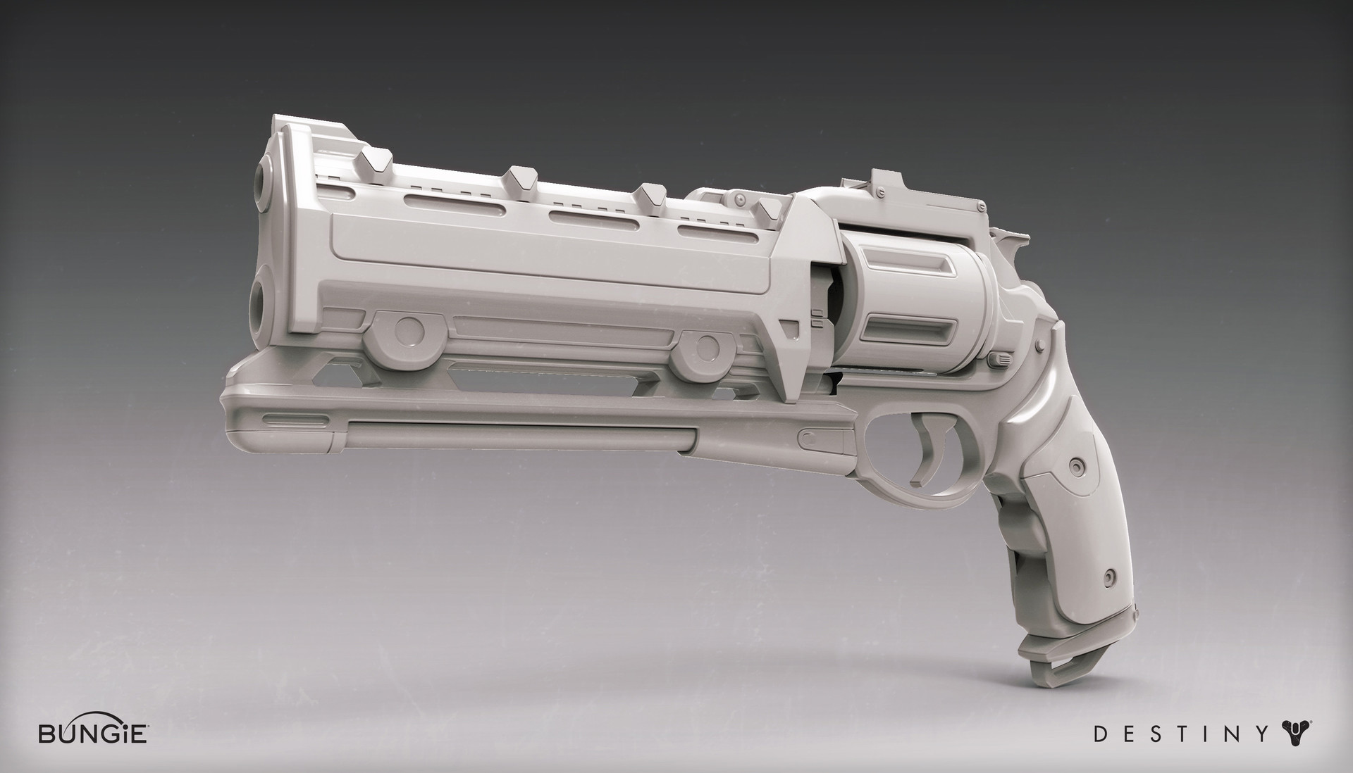 Mark van haitsma hand cannon 1d front perspective gray