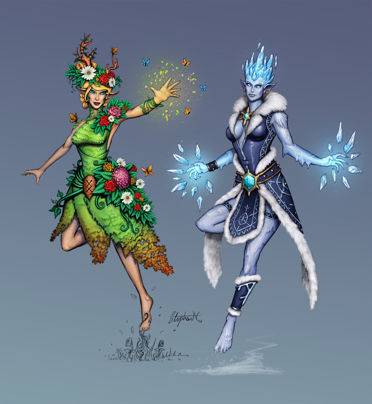 Smite: Summer And Winter Hel, Stephen Nickel