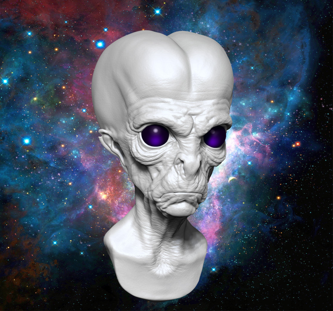 David chaney space ealien