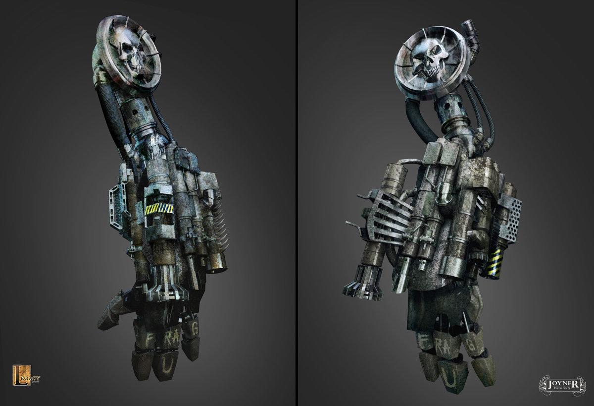 Unused Robot Arm Design