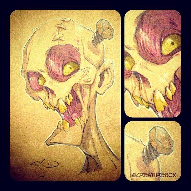 Roger perez skull