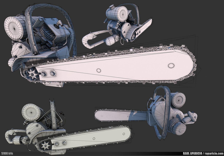 Raul aparicio props chainsaw 02 lowwires